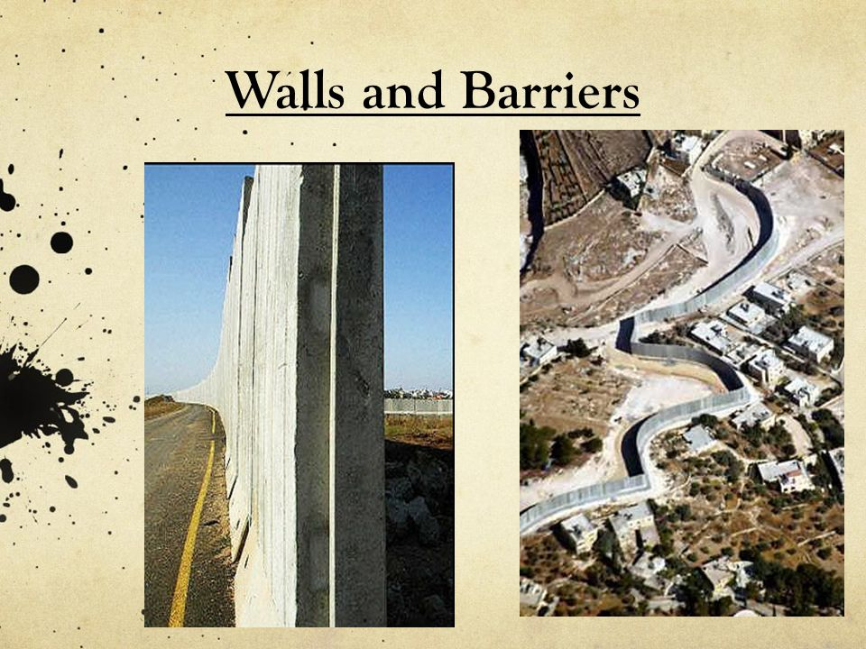 Walls and Barriers