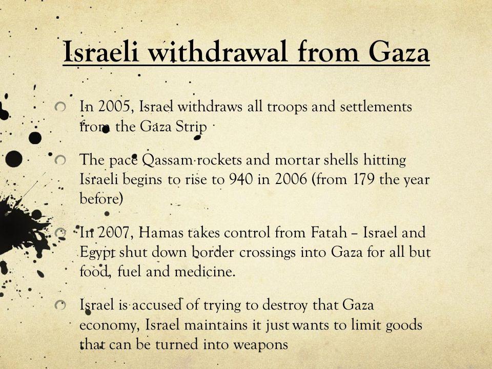 Israeli withdrawal from Gaza