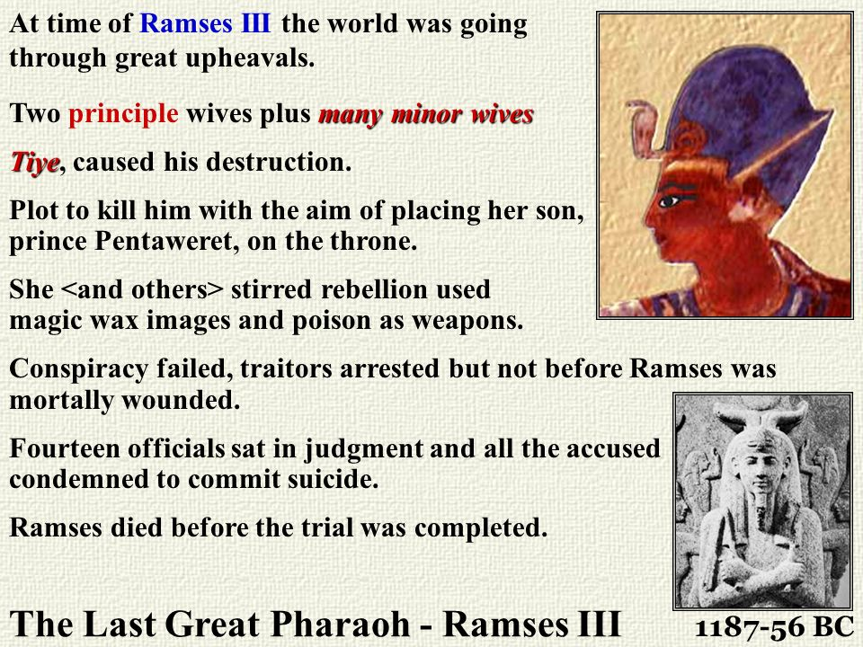 The Last Great Pharaoh - Ramses III