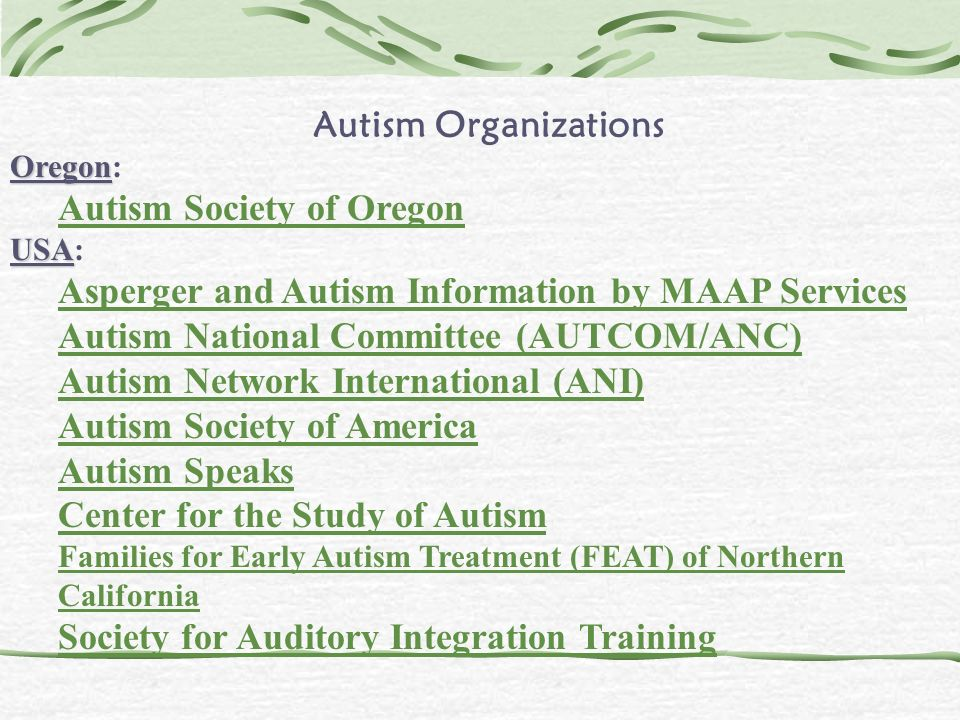Autism Society of Oregon