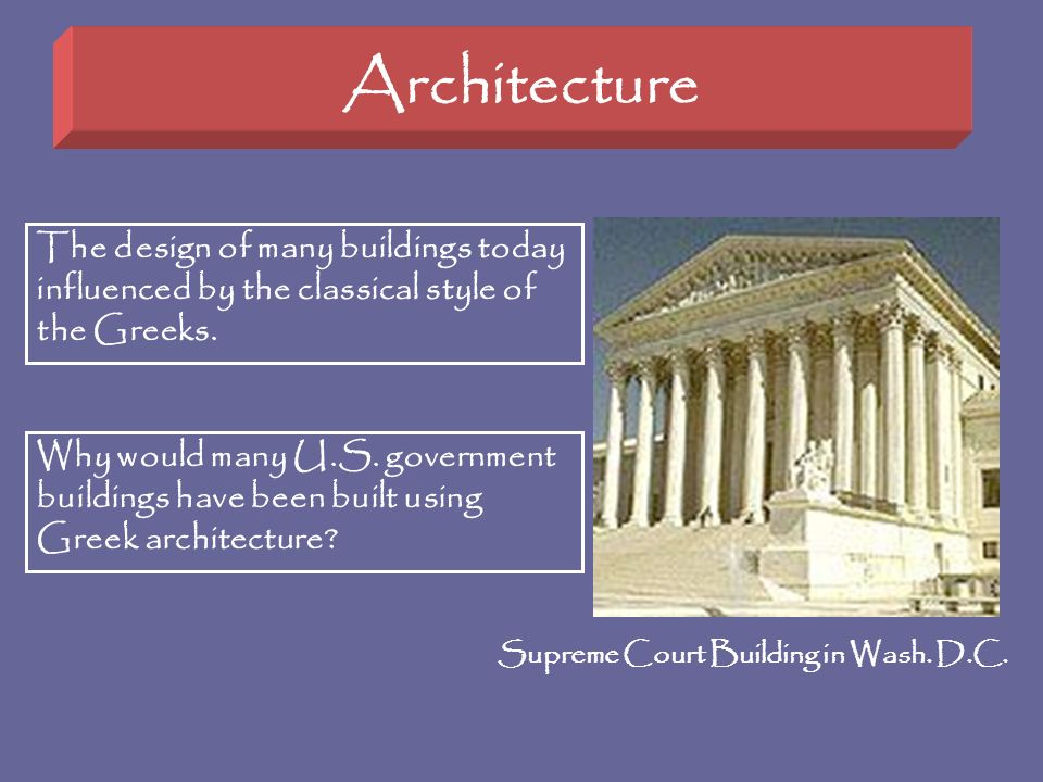 Supreme Court Building in Wash. D.C.