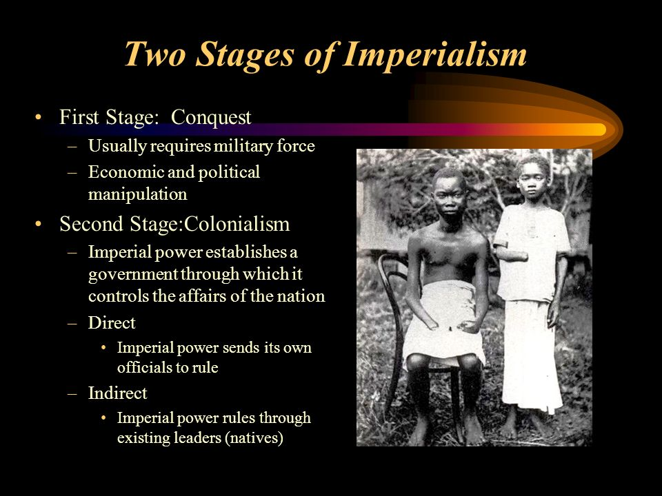 Two Stages of Imperialism