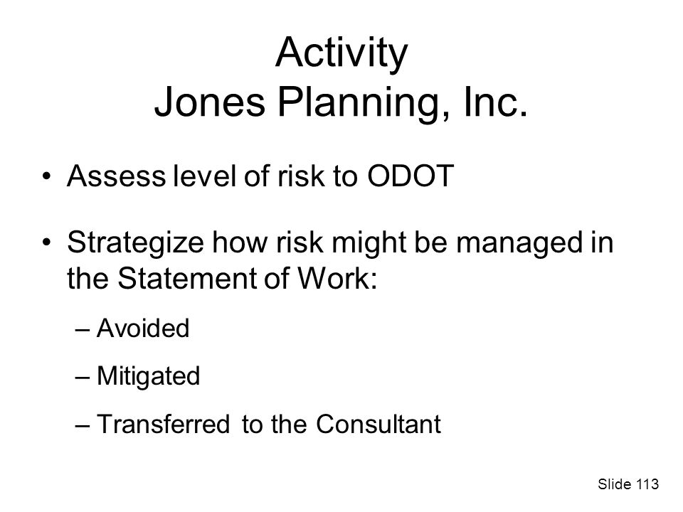 Activity Jones Planning, Inc.