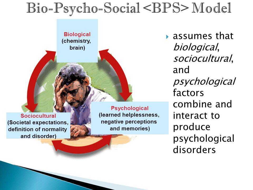 Bio-Psycho-Social <BPS> Model