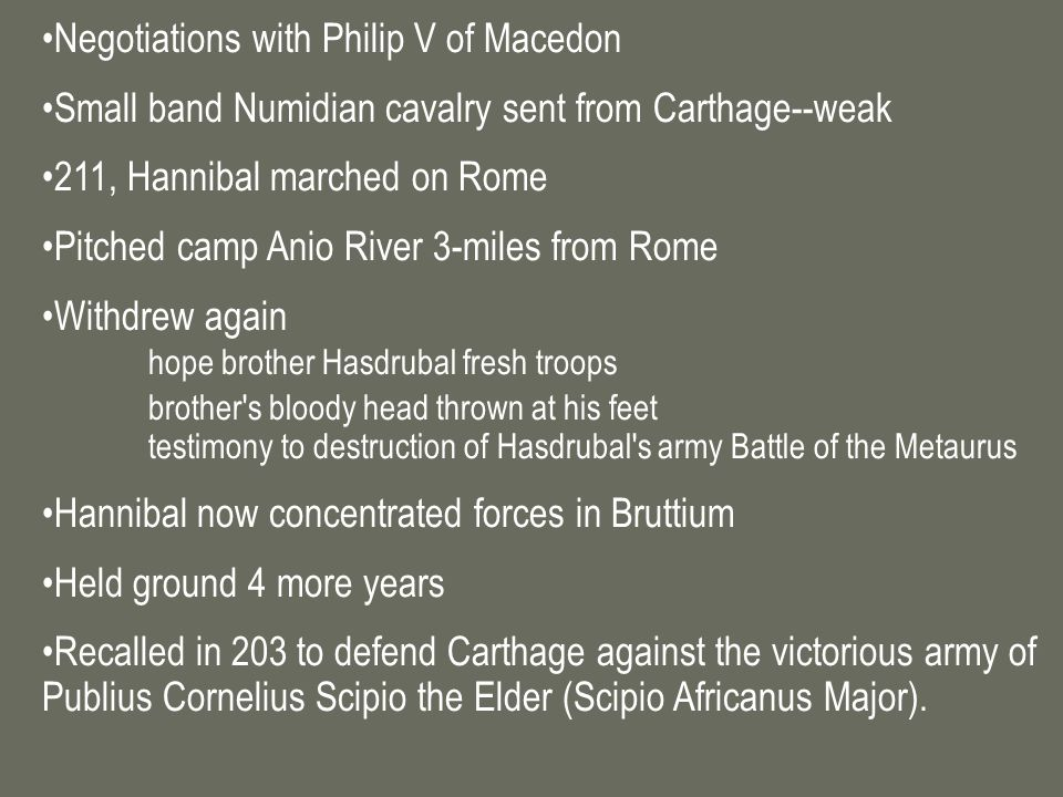 Negotiations with Philip V of Macedon