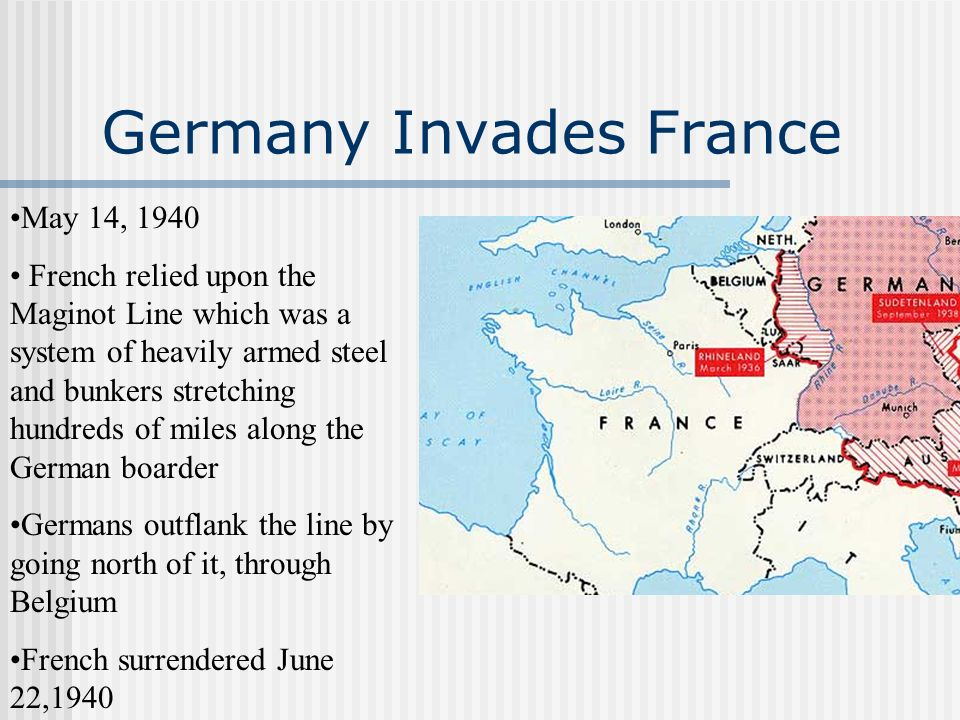 Germany Invades France