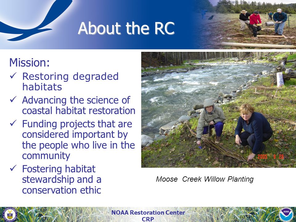 NOAA Restoration Center