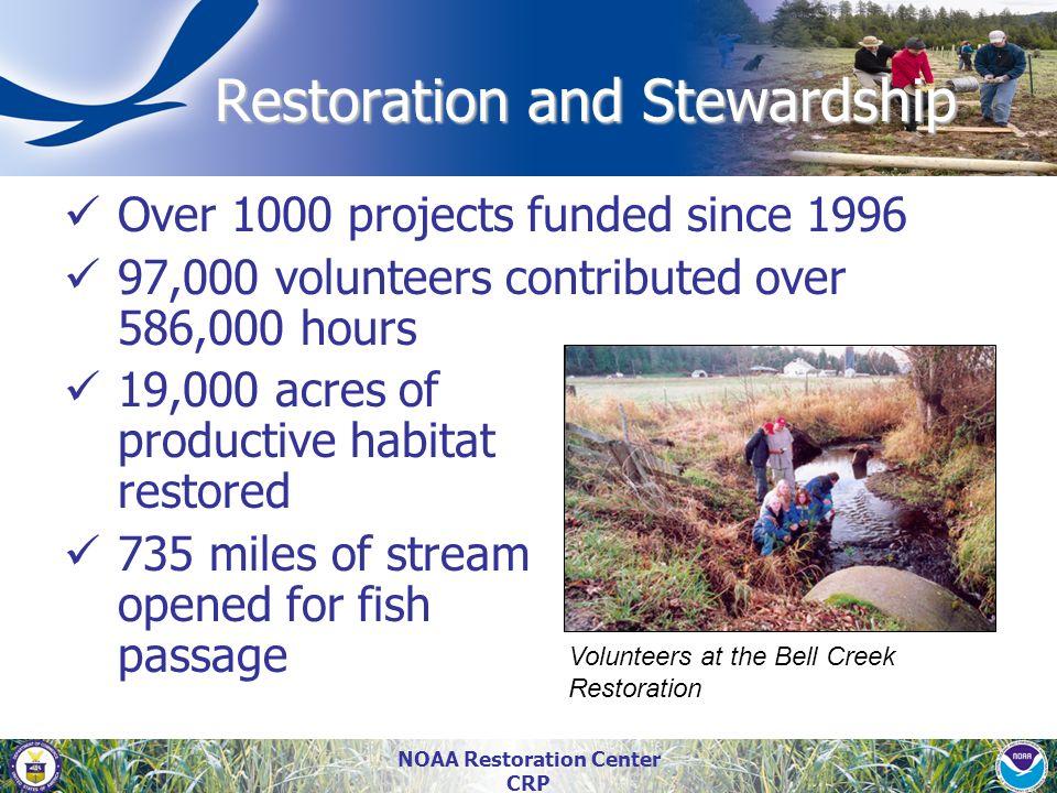 Restoration and Stewardship