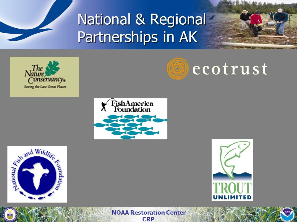 National & Regional Partnerships in AK