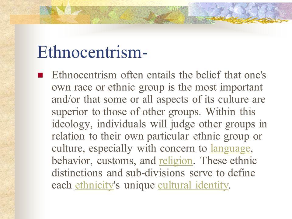 Ethnocentrism-