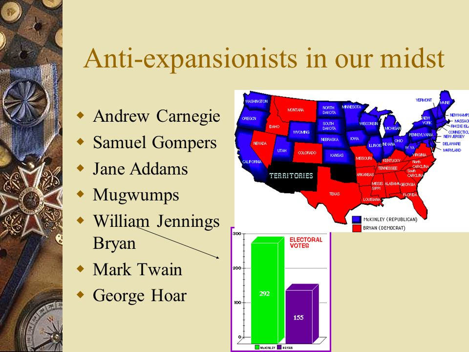 Anti-expansionists in our midst