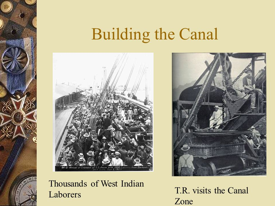 Building the Canal Thousands of West Indian Laborers