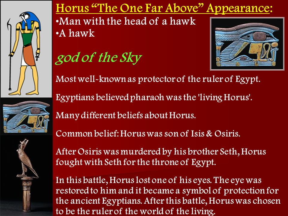 Horus The One Far Above Appearance: