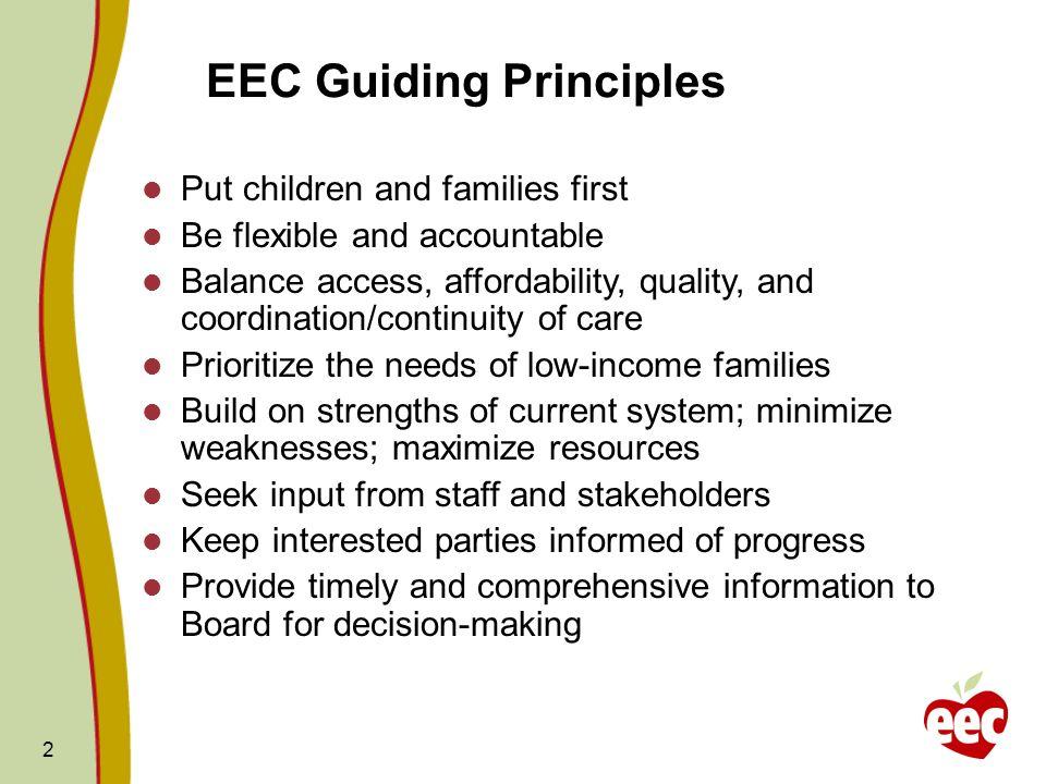 EEC Guiding Principles