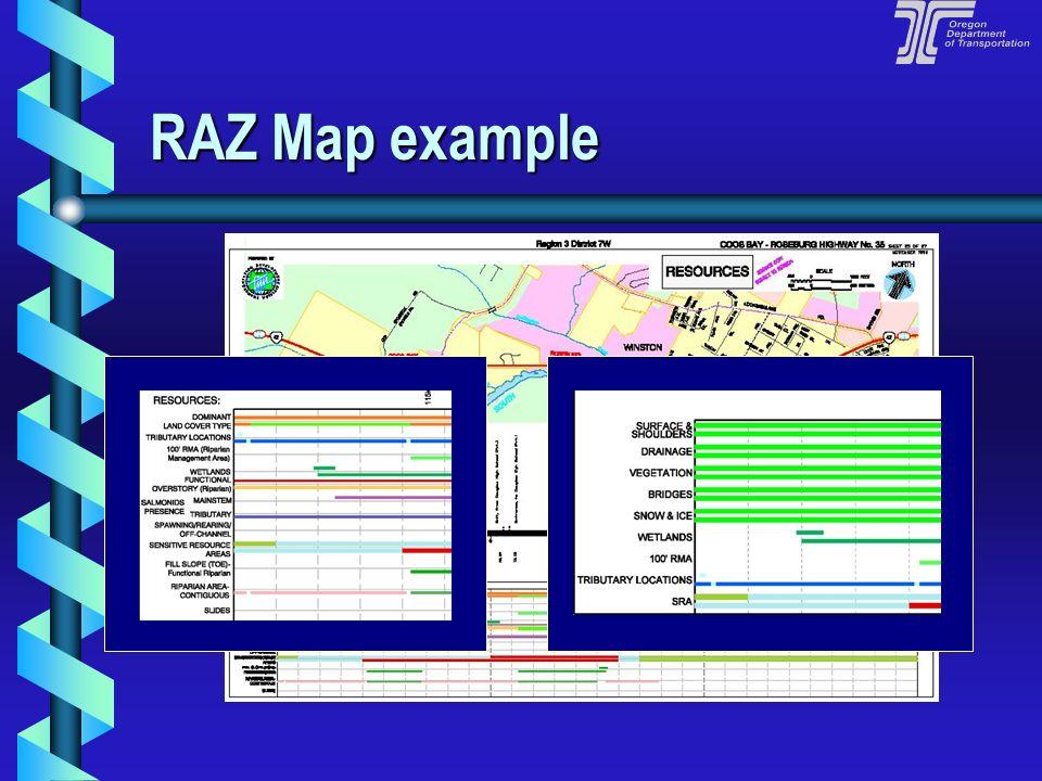 RAZ Map example