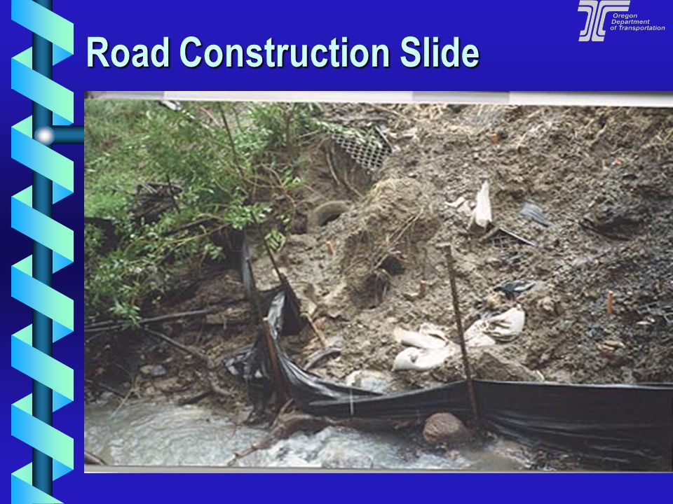 Road Construction Slide
