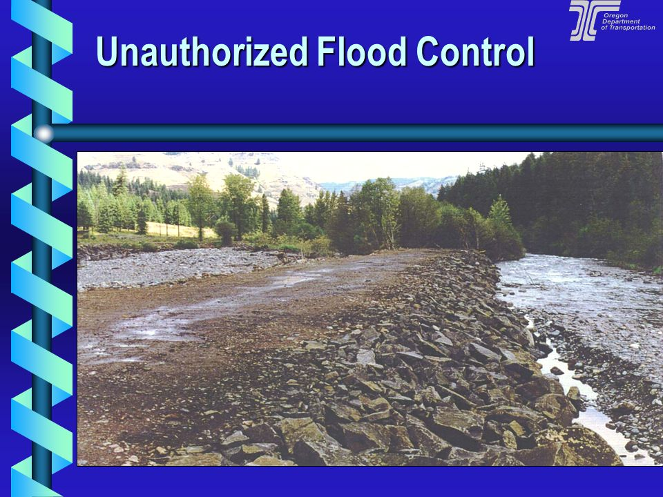 Unauthorized Flood Control