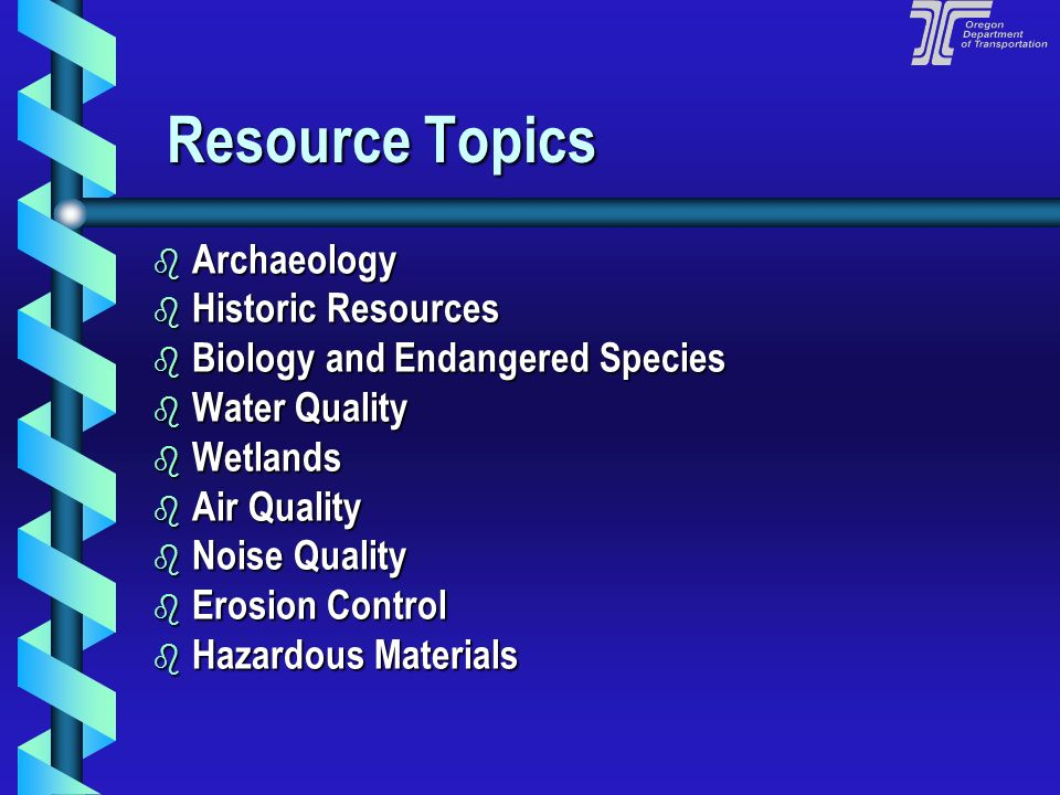 Resource Topics Archaeology Historic Resources