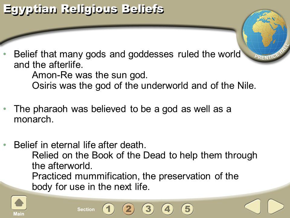 Egyptian Religious Beliefs