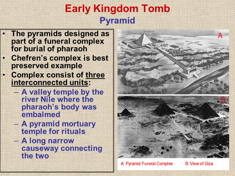 Early Kingdom Tomb Pyramid