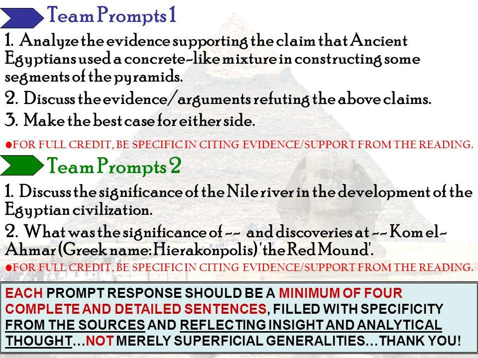 Team Prompts 1 Team Prompts 2