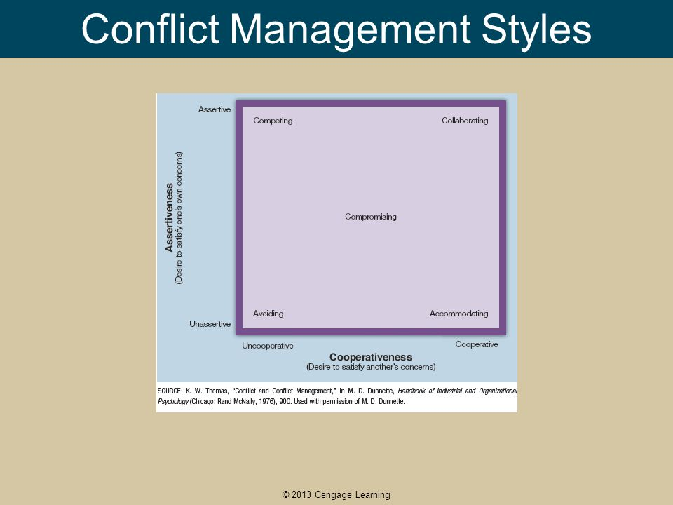 """conflict style management Conflict resolution management style team culture  when it comes to discussing your management style 1 define """"good management""""  management style is so ."""