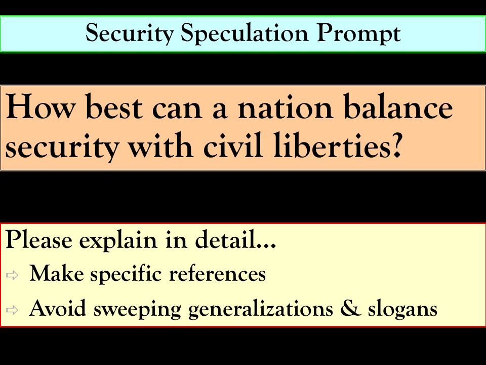 Security Speculation Prompt