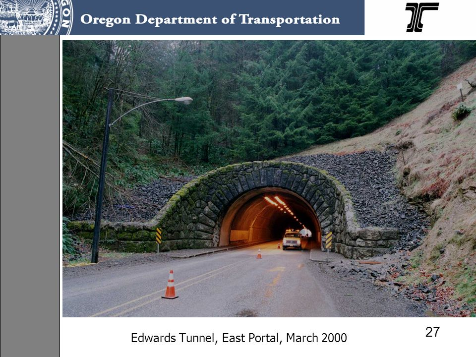 Edwards Tunnel, East Portal, March 2000