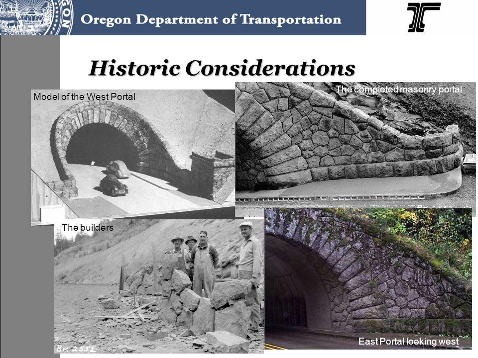 Historic Considerations