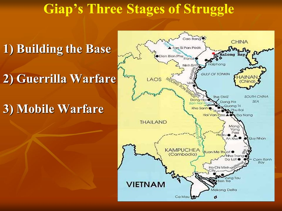 Giap's Three Stages of Struggle