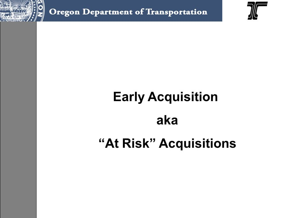 AT RISK ACQUISITIONS