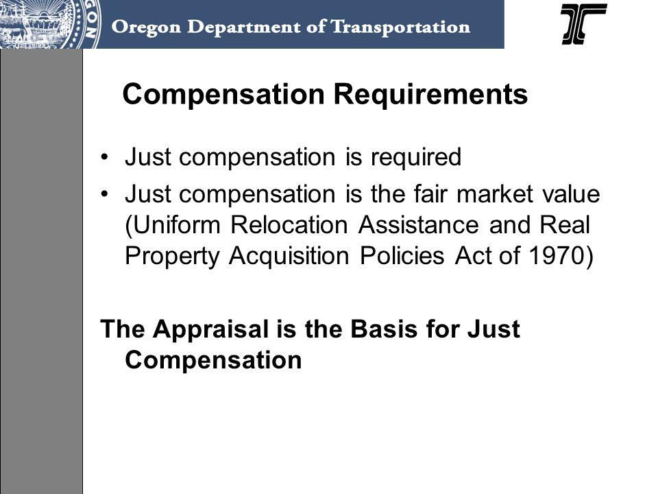 Compensation Requirements