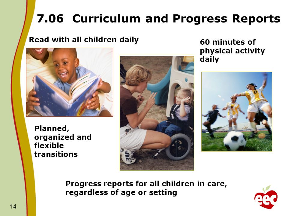 7.06 Curriculum and Progress Reports