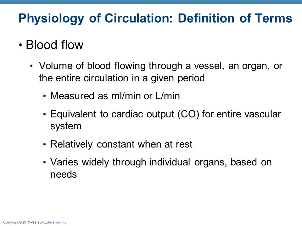 Phasic blood flow - medical library online