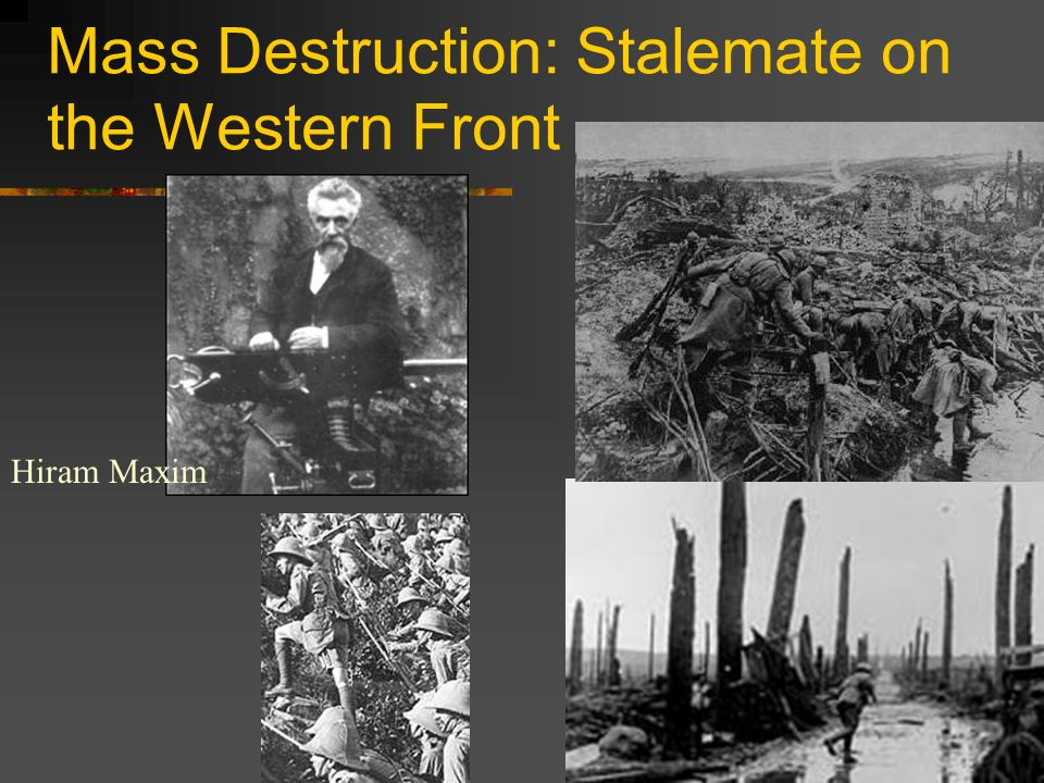 Mass Destruction: Stalemate on the Western Front