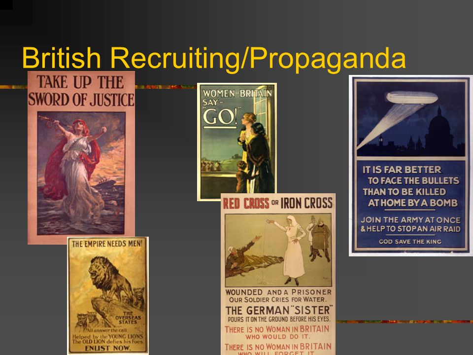 British Recruiting/Propaganda