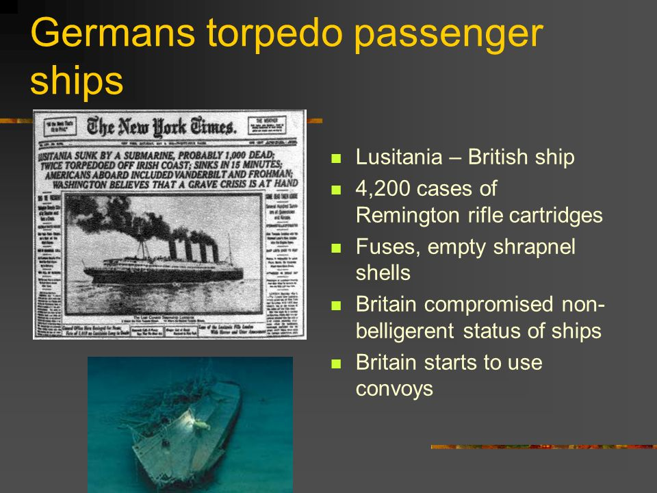 Germans torpedo passenger ships