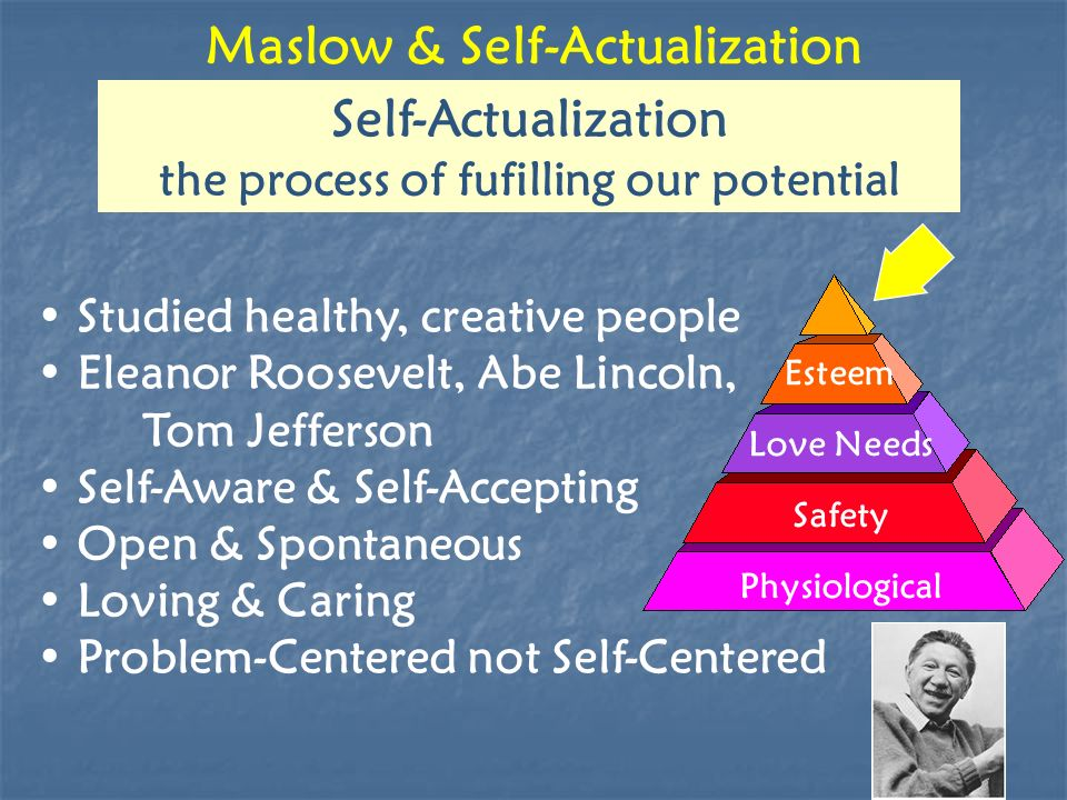 Maslow & Self-Actualization