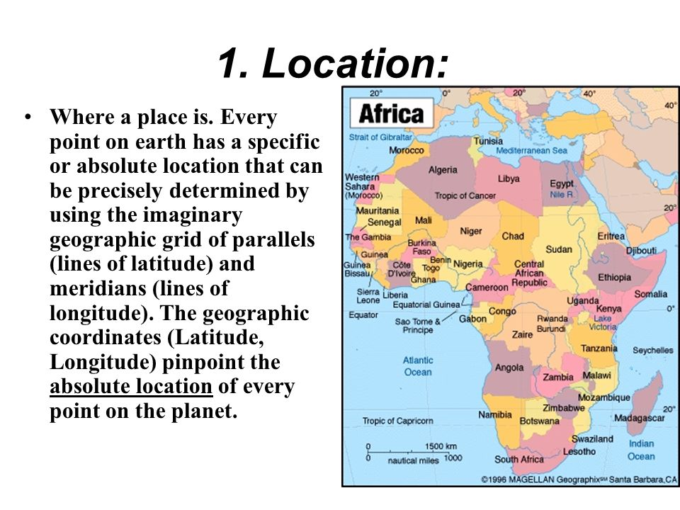 1. Location: