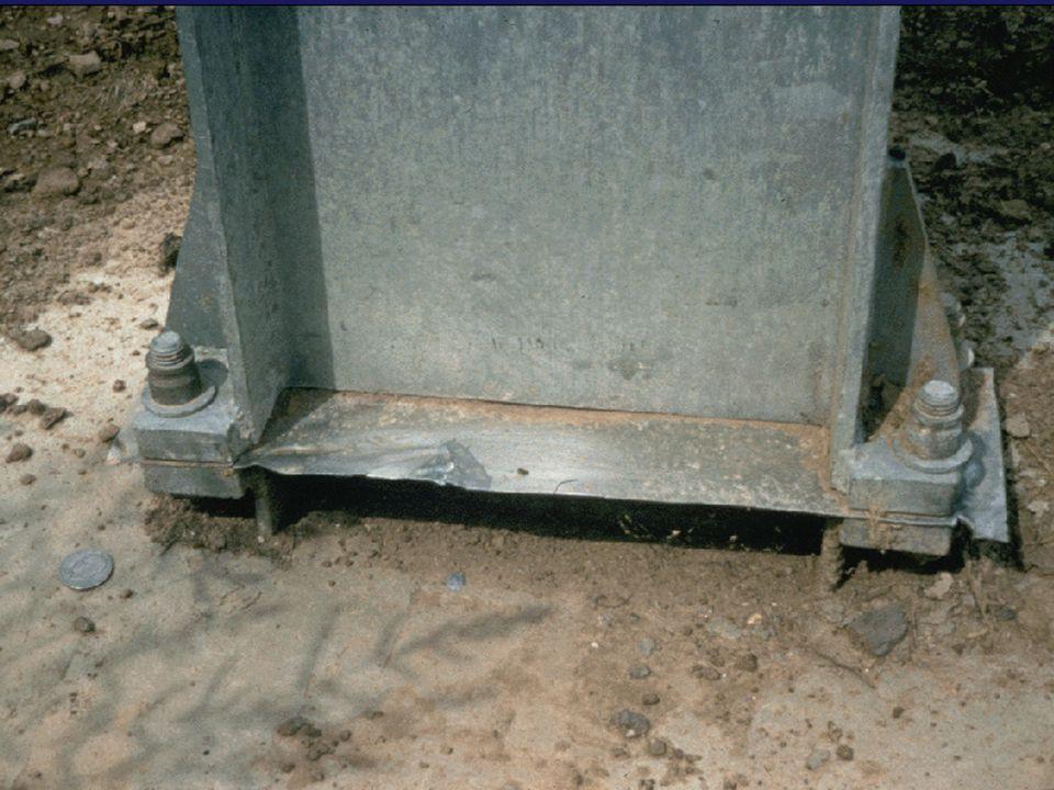 Uni-directional slip base