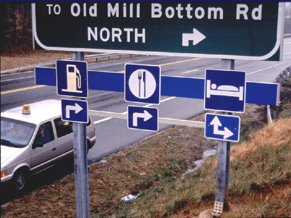 Old Mill Bottom Road Sign