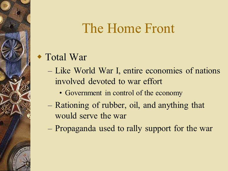 The Home Front Total War