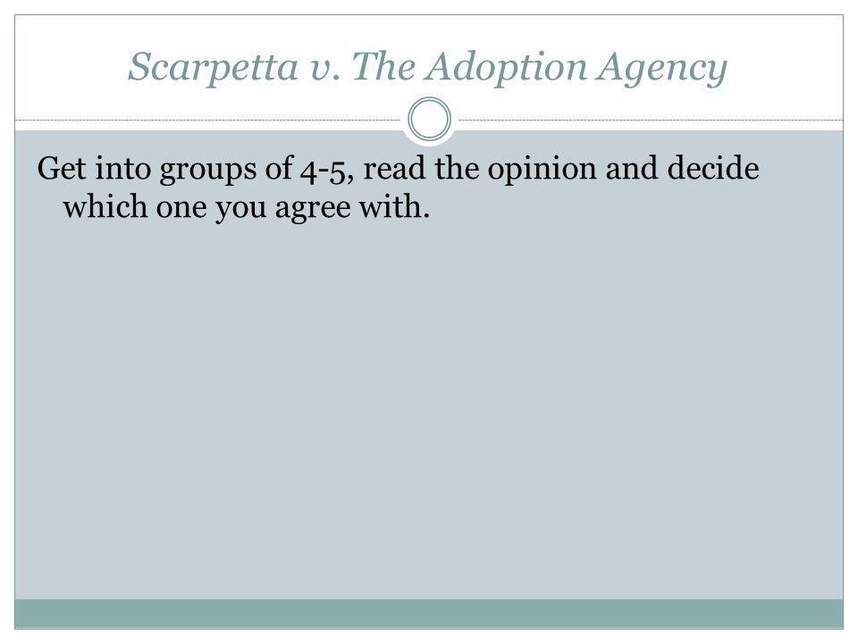 Scarpetta v. The Adoption Agency