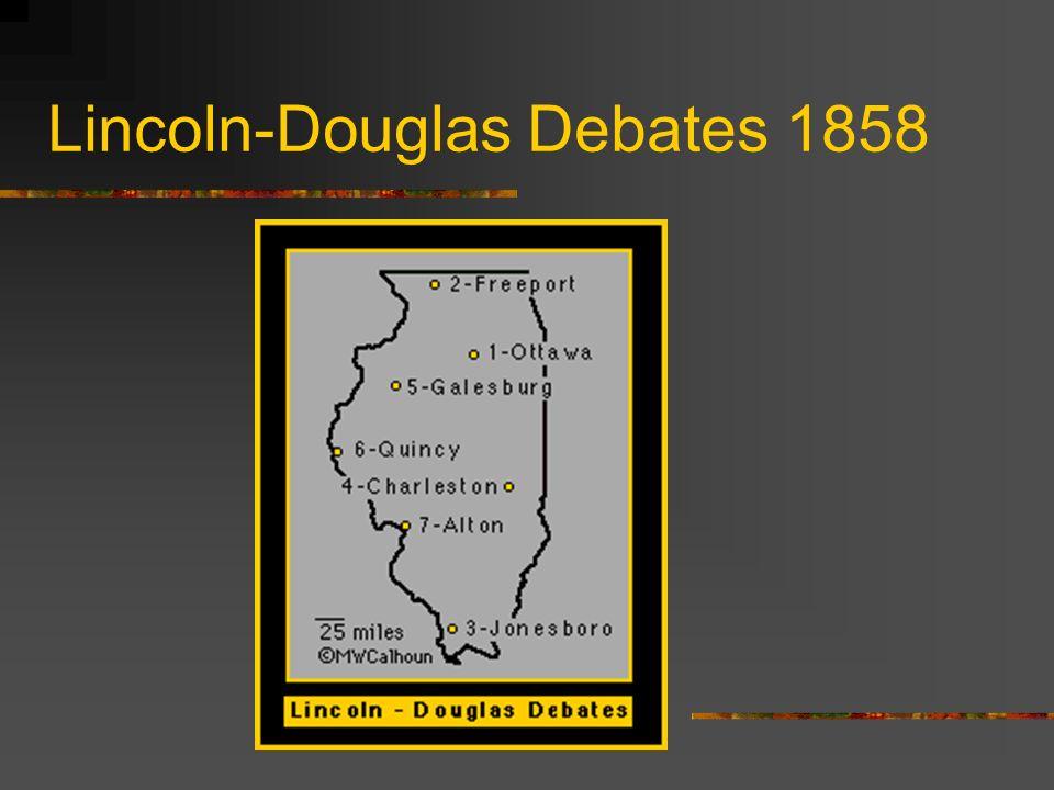 Lincoln-Douglas Debates 1858