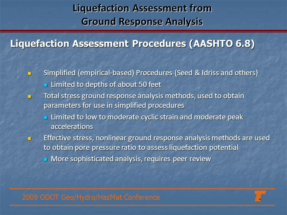Liquefaction Assessment from Ground Response Analysis