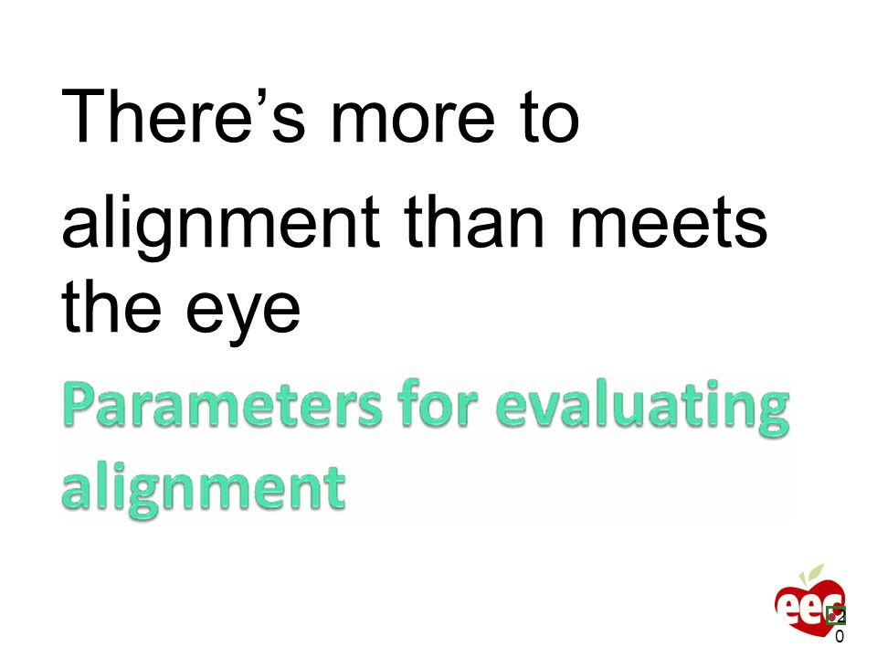 There's more to alignment than meets the eye 20