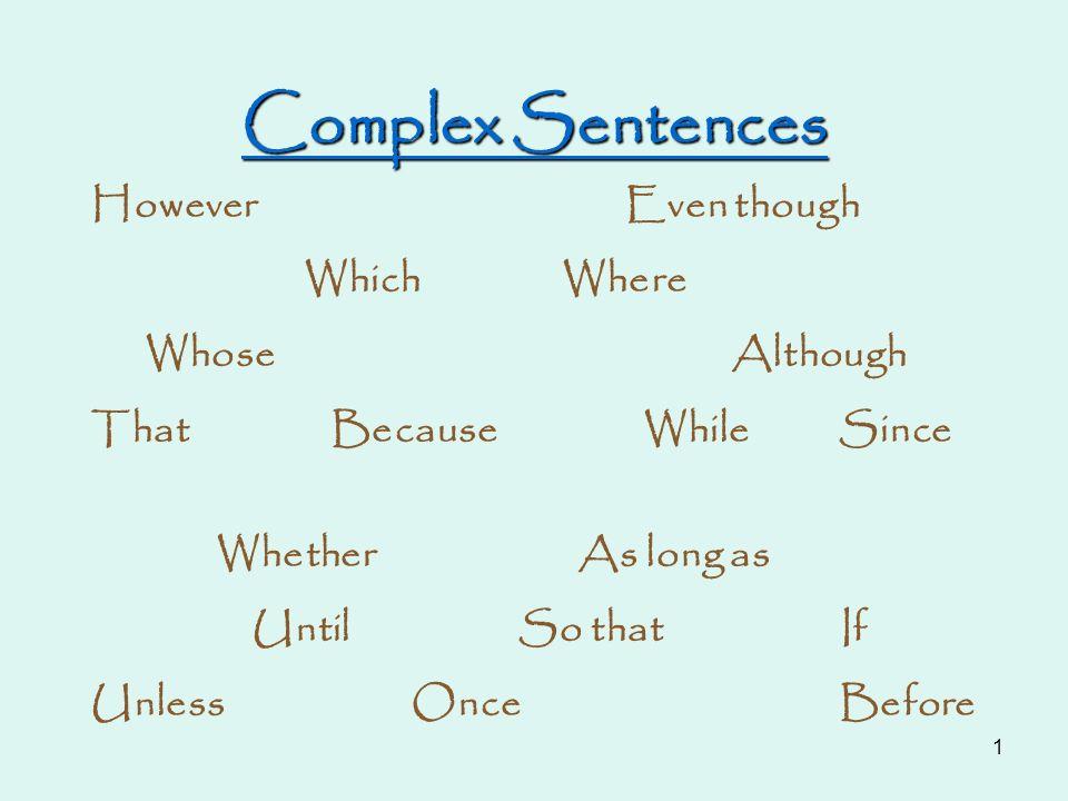 how to make complex japanese sentences