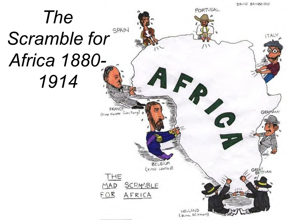 The Scramble for Africa 1880-1914