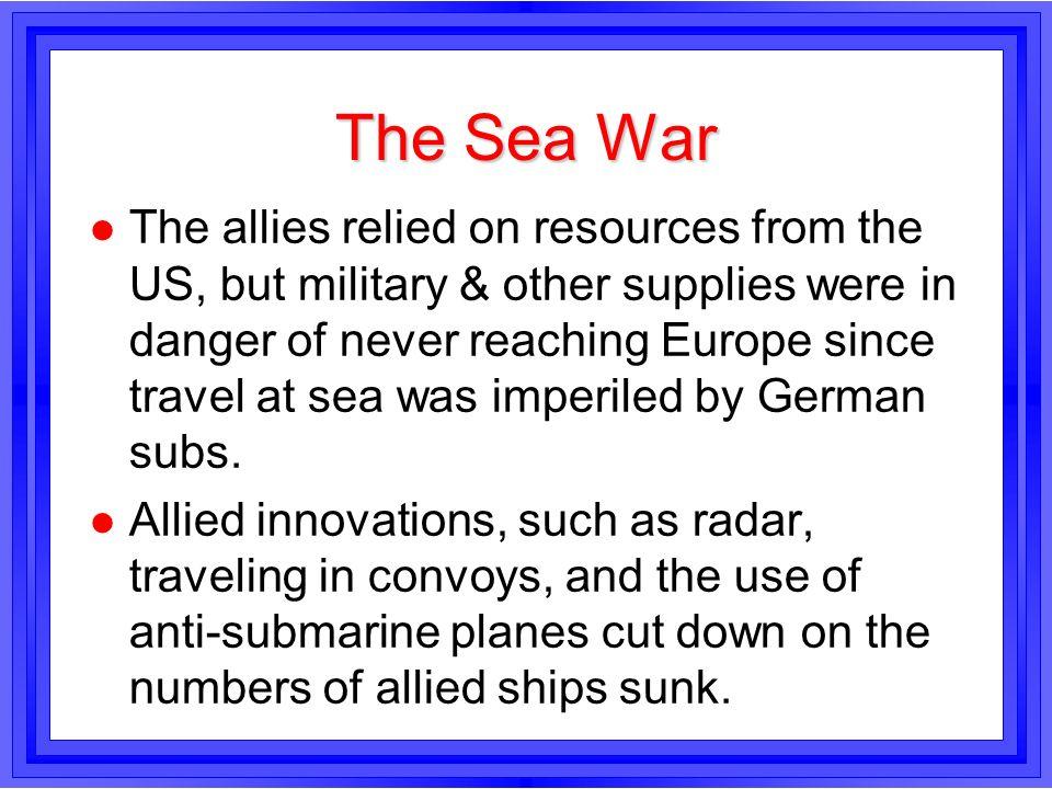 The Sea War
