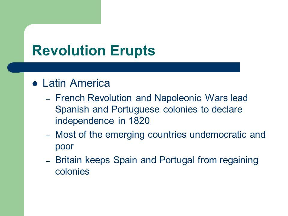 Revolution Erupts Latin America